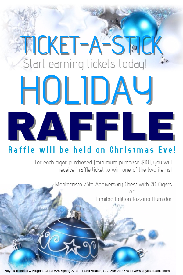 Holiday Raffle Flyer 2